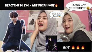 REACTION TO EXO - ARTIFICIAL LOVE🔥(INDONESIA)