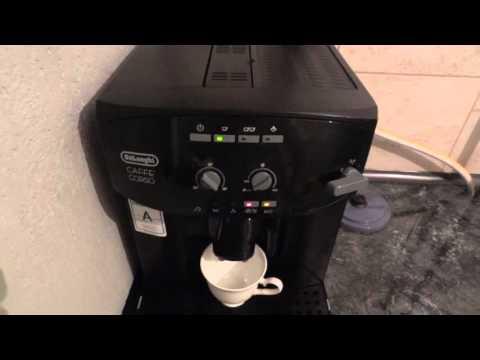 Моя Кофемашина De'Longhi CAFF CORSO ESAM 2600!