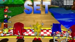 Sonic R PC - Resort Island w/ Super Sonic