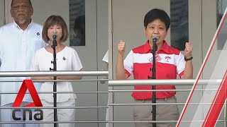 Ge2020: Pap, Psp Candidates For Hong Kah North Smc Address Supporters On Nomination Day