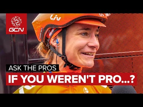 What Would You Do If You Weren't A Pro Cyclist..? | Ask The Pros At The Ovo Women's Tour