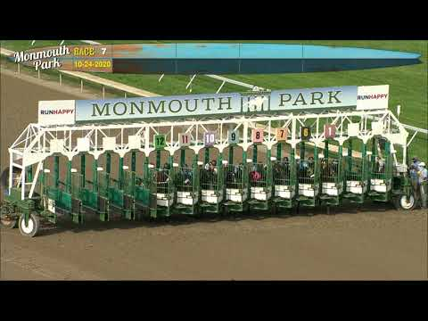 video thumbnail for MONMOUTH PARK 10-24-20 RACE 7 – DAN HORN HANDICAP