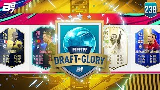 194! MY HIGHEST RATED DRAFT! | FIFA 19 DRAFT TO GLORY #238