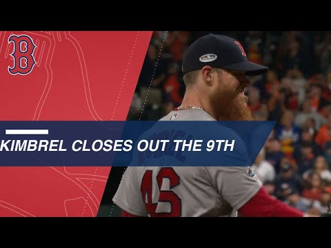 Kimbrel closes the door in the 9th in Game 4 of ALCS