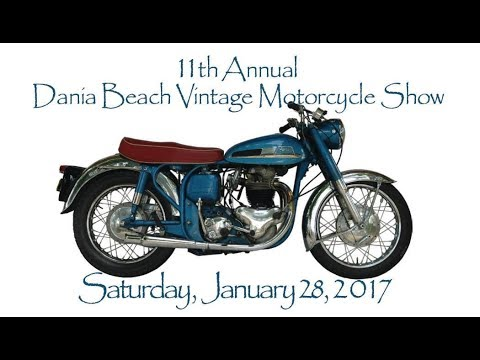 11th Annual Dania Beach Vintage Motorcycle Show
