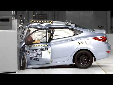 2013 Hyundai Accent Solaris Краш тест