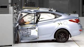 2013 Hyundai Accent Solaris Краш тест смотреть