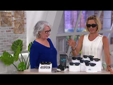 Jonathan Paul Polarized Fitovers Sunglasses with AR Coating on QVC