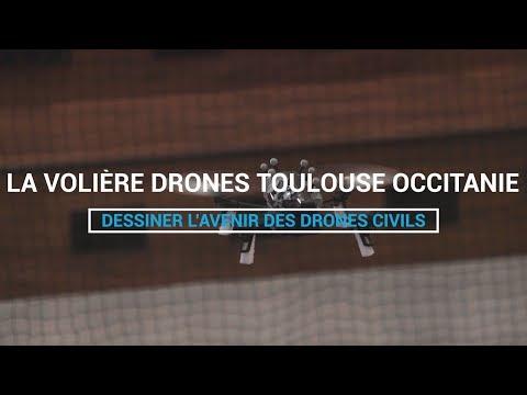 La volière drones de l'ENAC