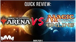 MTG Arena VS MTG Online - What's the Best Way to Play Magic Online!?
