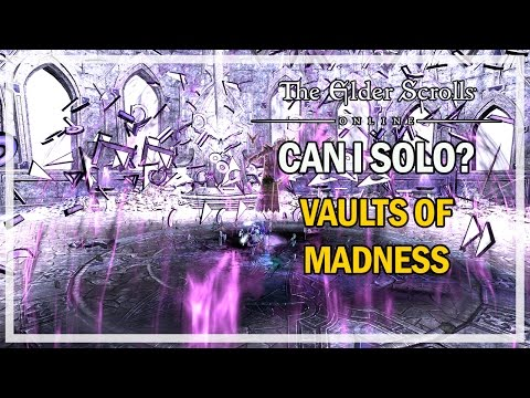 CAN I SOLO? Vaults of Madness - Episode 5 - The Elder Scrolls Online