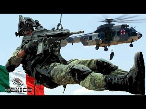 Practicas con Fuego Real de las Fuerzas Armadas de México