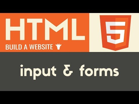 Input & Forms | HTML | Tutorial 14