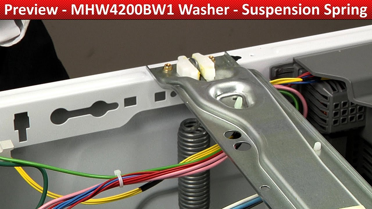 Maytag Centennial Spring Free Download Dryer Parts Diagram On Medc200xw Suspension Mhw4200bw1 Washer Youtube