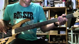 Mick Karn Bass (Cover) Medley Part 1 with TABS