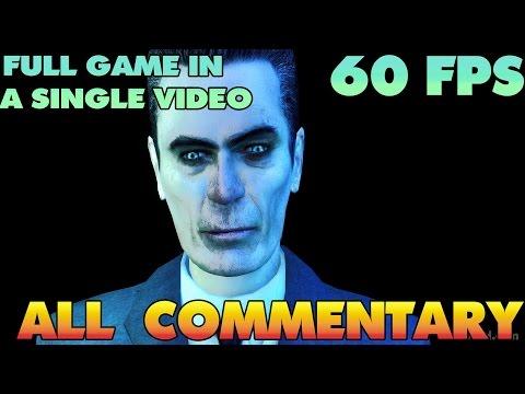 Half-Life 2 - Developer Commentary - Episode 1  【60FPS】