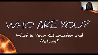 PWAM Virtual Sunday Sermon 2021_0117 Who Are You?