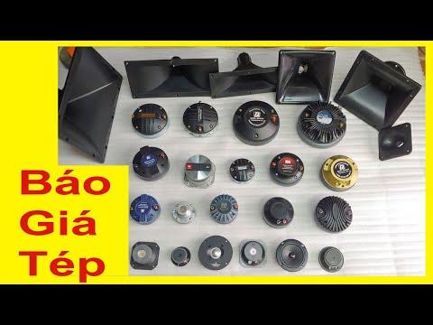 Báo Giá 1 nhà Tép Các Loại, treble kèn 450, treble kèn 750, siêu tép, tép neo jbl. đt:0904612323