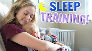 Sleep Training Baby Talmage! - Tips for Crying and Sleeping Through the Night
