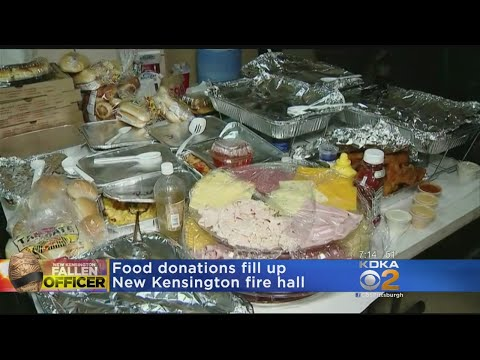 New Kensington Police Department Accepting Food Donations At Fire Department
