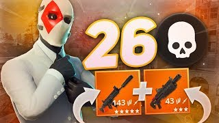 POMPE LOURD + SCAR SILENCIEUSE = IMBATTABLE !! (FORNTITE BATTLE ROYALE GAMEPLAY)