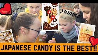 外国人が日本のお菓子を食べてみた!(Foreigners try Japanese sweets)