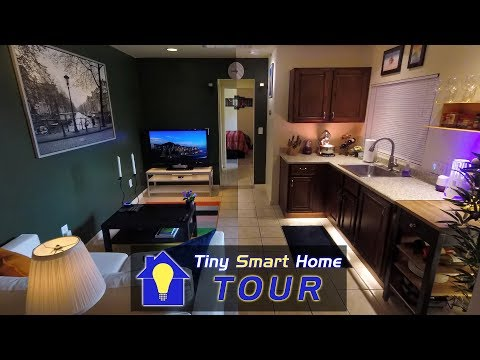 High-Tech, Small Space: The Tiny Smart Home Tour!