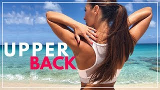 How to Reduce Upper Back Fat and Tone Arms in 8 Minutes