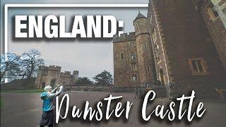 England: Dunster Castle in North Devon