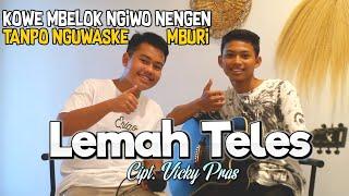 Download Kowe mbelok ngiwo nengen || Lemah Teles - Cipt. Vicky Pras (cover) By Mwp Channel Ft Givangkara