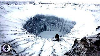 まさに地獄の入口!謎が謎を呼ぶ「シベリアの巨大穴」