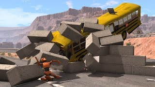 Cars vs. Concrete vs. Dummy 2 | BeamNG.drive