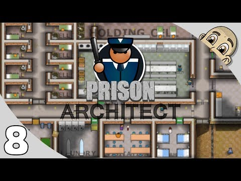 Prison Architect 2.0 - Ep. 8 - Prison Gang Violence - Lets Play Prison Architect Gameplay