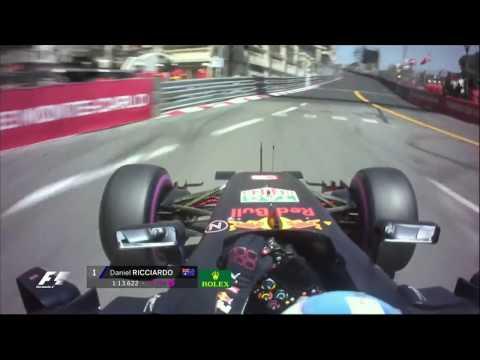 Ricciardo's Pole Lap in Monaco, 2016   F1 is...Breathtaking