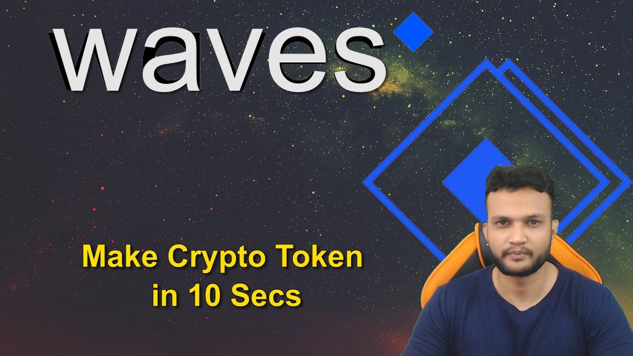 how to make a cryptocurrency on waves