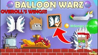 OVEROLL'S WINGS + EARN POINT + NEW ITEMS!! OMG!! | GrowTopia