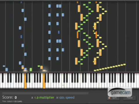 Piano Battle 3 - Synthesia (100% Speed) - UPDATED