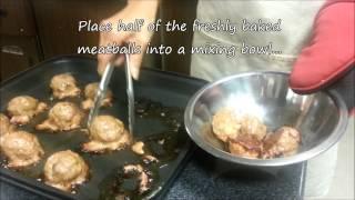 Okonomi Meatballs And Soy Glaze Meatballs (soy Glaze Is Completely Gluten Free!!)