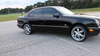 mercedes benz e320 and e420 on 20s belly edition