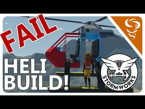 WELL I TRIED!   -  Stormworks: Build and Rescue  -  Part 3