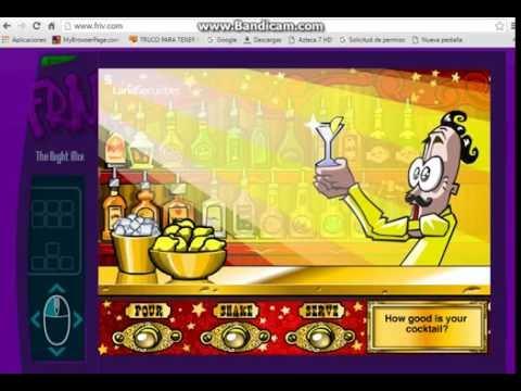 Friv 2 Games Good Cocktail For The Game Bartender 2016 Youtube
