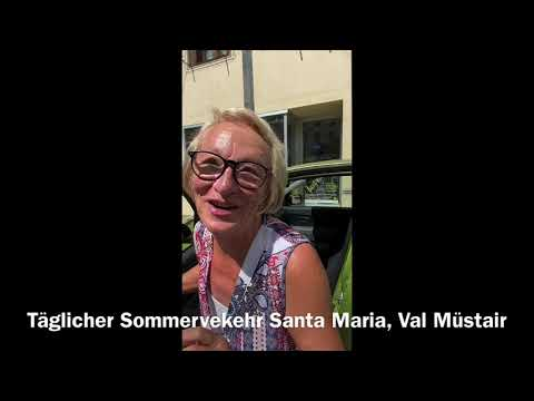Download Täglicher Sommerverkehr Santa Maria, Val Müstair