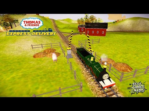Thomas & Friends: Express Delivery | Construct new buildings w/ EMILY By Budge Studios