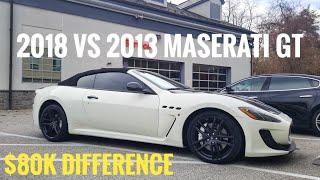 New Vs Used Maserati Granturismo 2018 : Buy it?