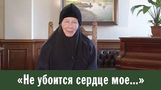 «Не убоится сердце мое...». Сестры благодарят за молитвы (монахиня Мария (Литвинова))