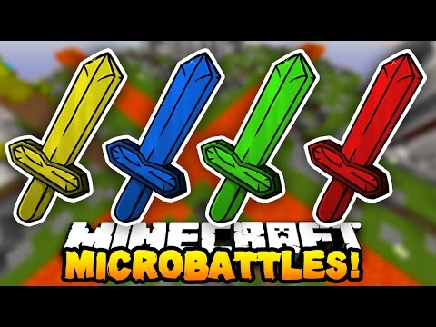 "Minecraft MICRO BATTLES ""ULTIMATE TEAM!"" #33 - with Preston, CampingRusher & Kenny"