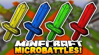 """Minecraft MICRO BATTLES """"ULTIMATE TEAM!"""" #33 - with Preston, CampingRusher & Kenny"""