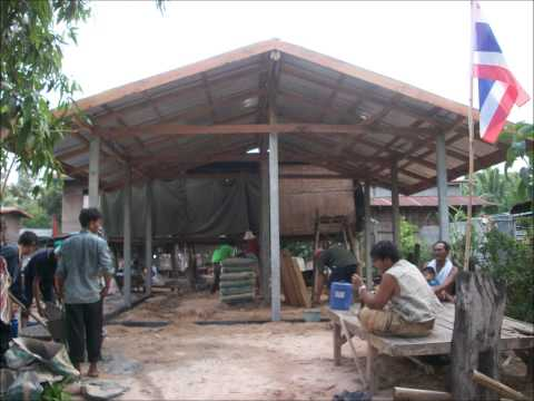 Government funded house build in Rural Thailand