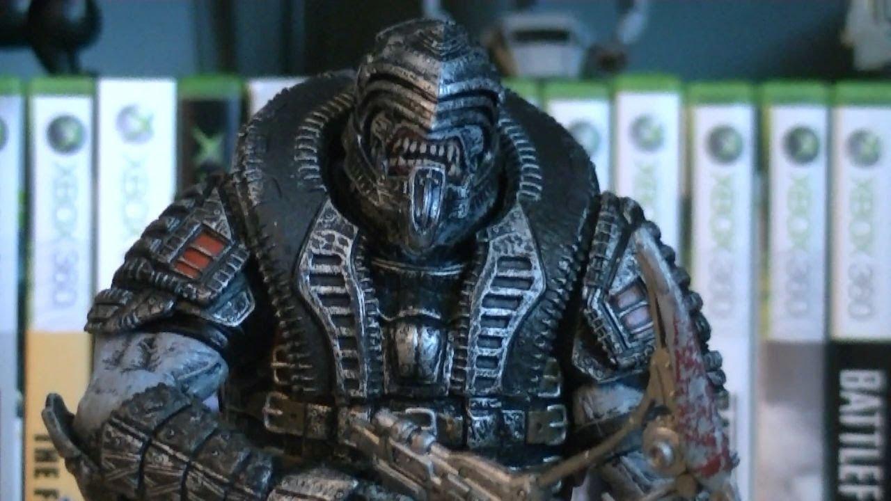 "NECA Gears Of War 3 Elite Theron 7/"" SDCC Exclusive Action Figure"