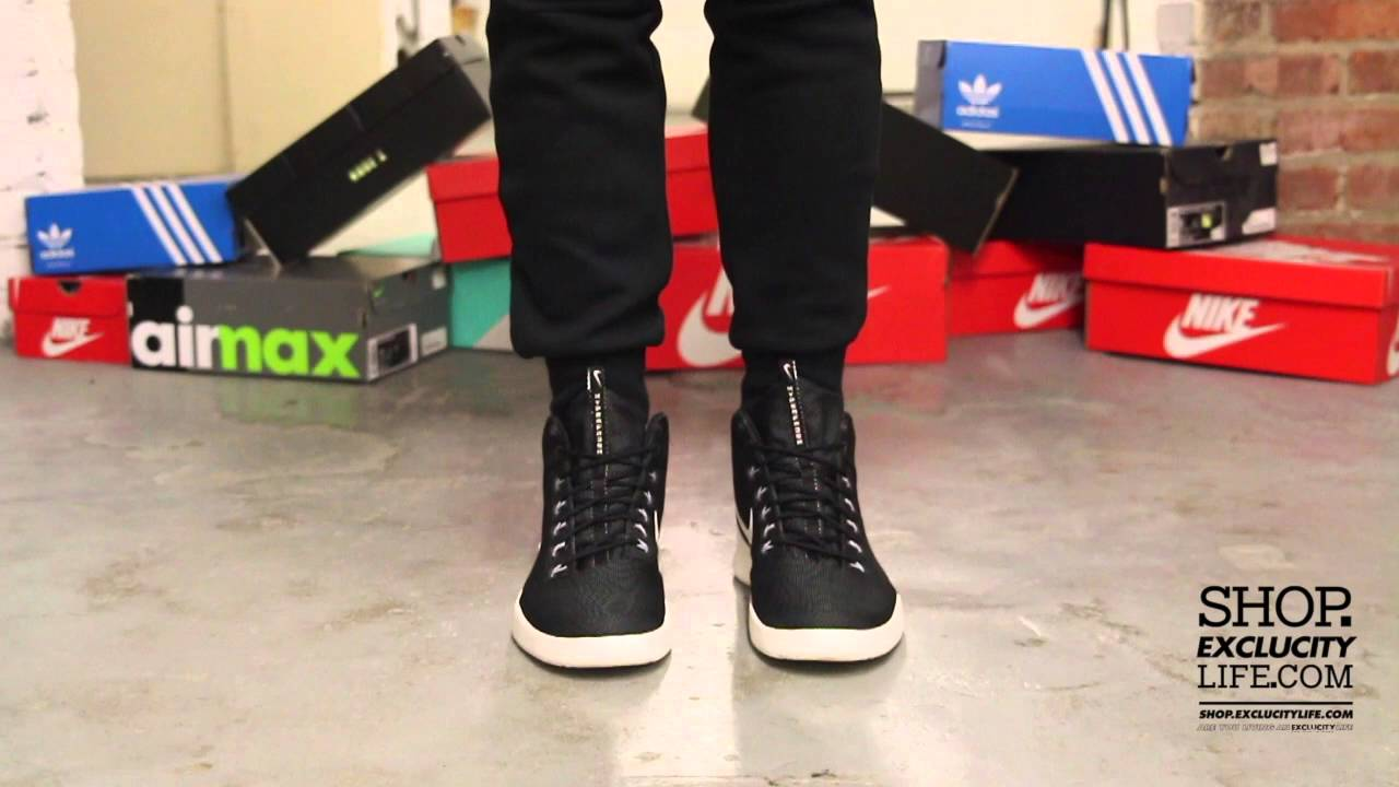 the latest a3c91 22d40 Nike Hyperfr3sh Black - White On-feet Video at Exclcuity